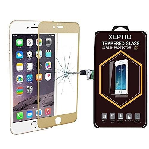 film protection cran en verre tremp full cover apple iphone 7 4 7 gold screen protector. Black Bedroom Furniture Sets. Home Design Ideas