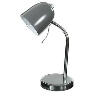 Lampe de bureau multipositions gris 116158 achat vente lampe de bureau m - Lampe de bureau style new york ...