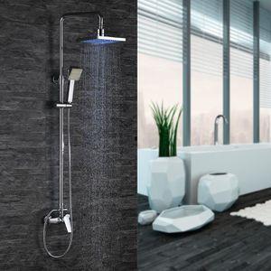 colonne de douche led achat vente colonne de douche led pas cher cdiscount. Black Bedroom Furniture Sets. Home Design Ideas
