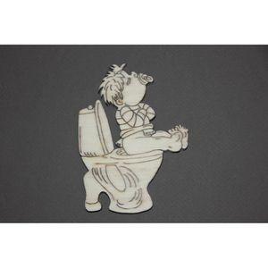 Plaque deco wc achat vente plaque deco wc pas cher - Plaque de porte wc design ...