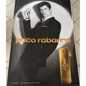 AFFICHE Paco Rabanne - 1 Million - parfum - Sean O'Pry - 1