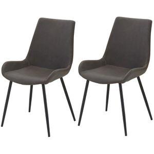 chaises marron vieilli achat vente chaises marron vieilli pas cher cdiscount. Black Bedroom Furniture Sets. Home Design Ideas