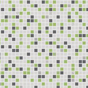 Papier peint couleur vert achat vente papier peint - Papier peint salle de bain pas cher ...