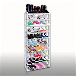 Etagere plastique chaussures achat vente etagere - Meuble a chaussure plastique ...