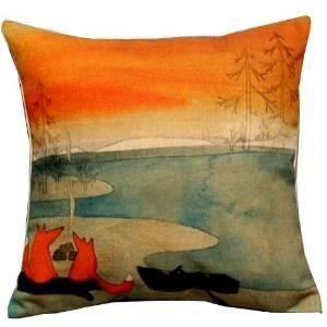 Dreamshop 45x45cm taie d 39 oreiller couverture coussin en for Taie d oreiller pour canape