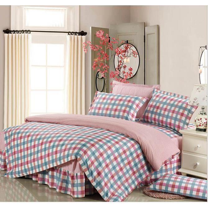 Housse de couette parure de lit 2 taies 240 x 220 cm 065 for Parure de lit moderne