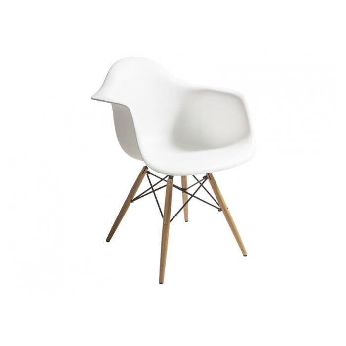 Lot de 2 chaises design style dsw zaneti abs achat for Soldes eames
