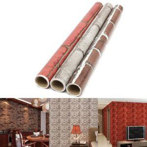 rouleau adhesif brique achat vente rouleau adhesif brique pas cher cdiscount. Black Bedroom Furniture Sets. Home Design Ideas