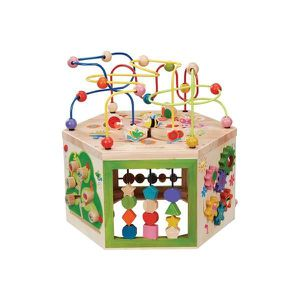 TABLE JOUET D'ACTIVITÉ Cube d'activités 7 en 1