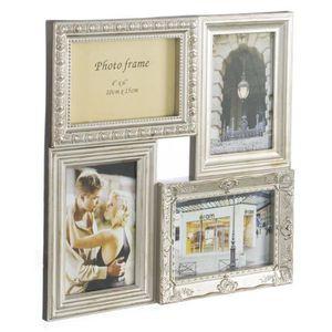 cadre photo multiples achat vente cadre photo multiples pas cher soldes cdiscount. Black Bedroom Furniture Sets. Home Design Ideas