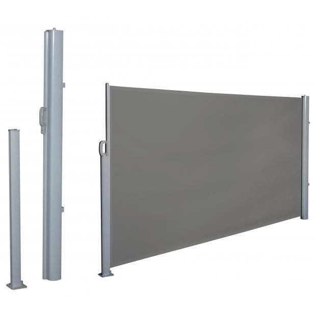 cloison extensible brise vue gris r glable 3mx1m60 achat vente haie cloison extensible. Black Bedroom Furniture Sets. Home Design Ideas