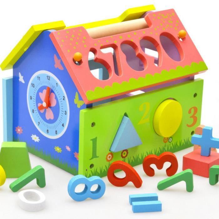 jouet ducatif la g om trie d 39 appariement la maison de la sagesse achat vente bo te forme. Black Bedroom Furniture Sets. Home Design Ideas