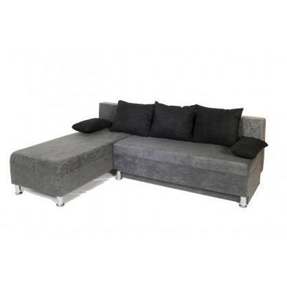 Canap d 39 angle convertible sirius gris achat vente for Canape d angle 200 euros