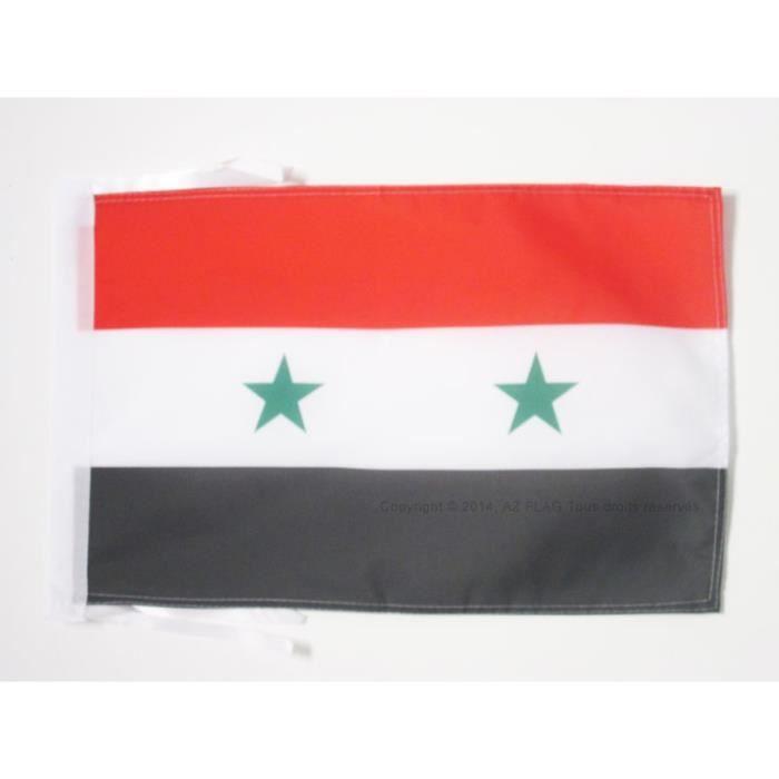 Drapeau syrie 45x30cm syrien haute qualit achat for Linge de maison haute qualite