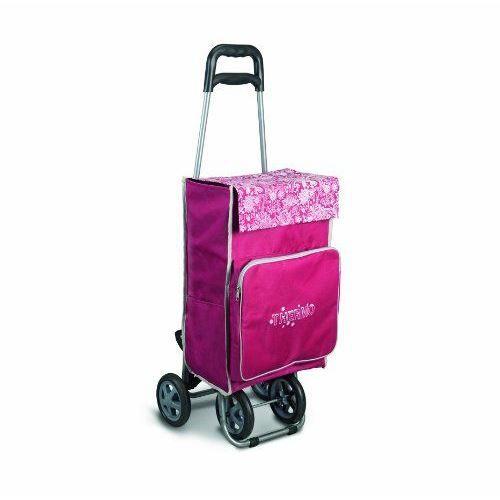 metaltex chariot de courses motif orchid es imp achat vente poussette de marche metaltex. Black Bedroom Furniture Sets. Home Design Ideas