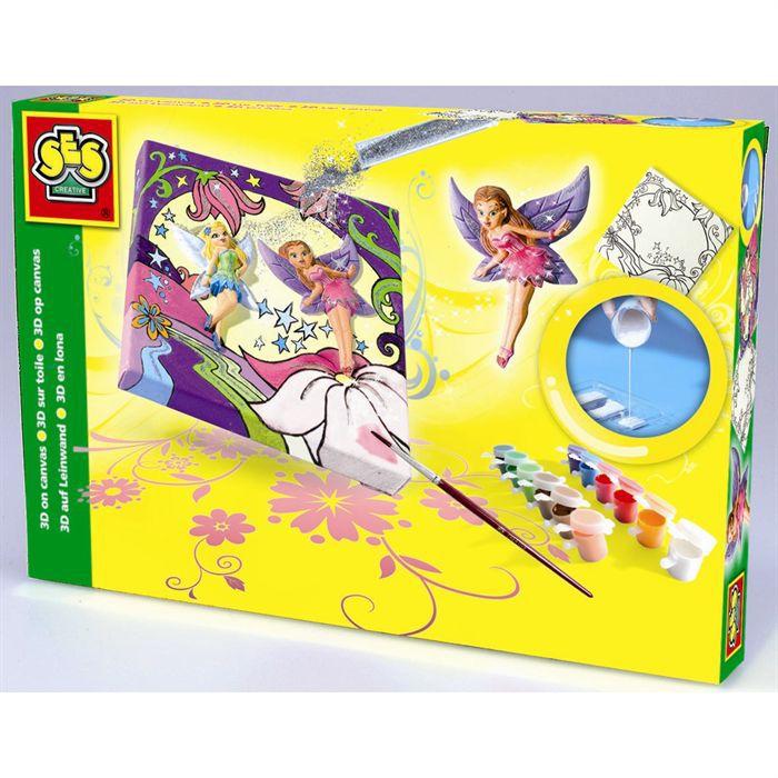 Cr ation tableau 3d elfes achat vente kit peinture - Creation tableau photo ...