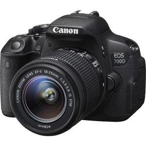 CANON EOS 700D Reflex + 18-55 IS STM