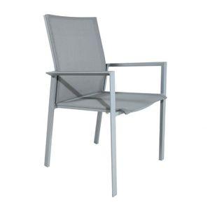 chaise alu exterieur achat vente chaise alu exterieur pas cher cdiscount. Black Bedroom Furniture Sets. Home Design Ideas