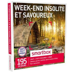 COFFRET SÉJOUR Coffret Cadeau Week-end insolite et savoureux - 22