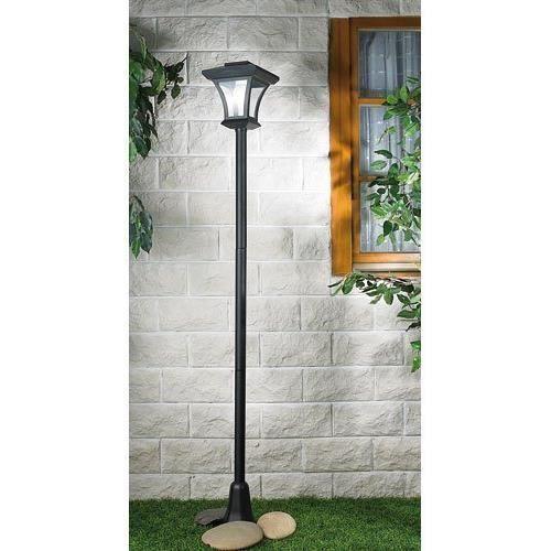 lampadaire solaire lampe solaire de jardin 166 cm achat vente lampadaire solaire lampe s. Black Bedroom Furniture Sets. Home Design Ideas