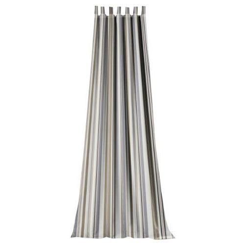 horn kg bormio 5 70 rideau pattes imprim gris 245x135cm achat vente rideau cdiscount. Black Bedroom Furniture Sets. Home Design Ideas