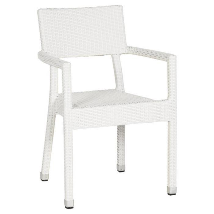 fauteuil design braid blanc achat vente fauteuil blanc. Black Bedroom Furniture Sets. Home Design Ideas