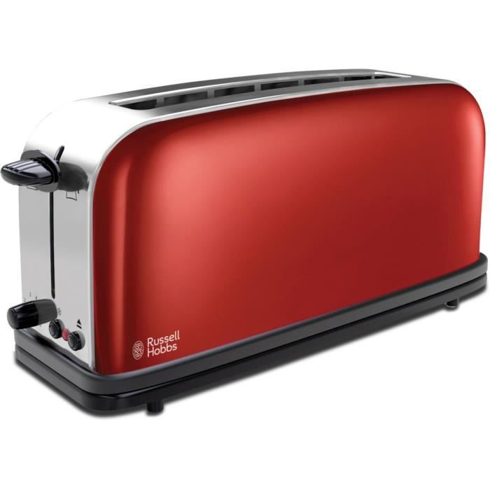 grille pain russell hobbs rouge flamboyant 21391 5 achat vente grille pain toaster cdiscount. Black Bedroom Furniture Sets. Home Design Ideas