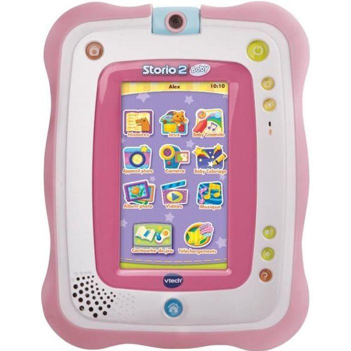 vtech baby tablette storio 2 baby rose achat vente tablette enfant cdiscount. Black Bedroom Furniture Sets. Home Design Ideas