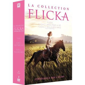 DVD DESSIN ANIMÉ DVD Coffret La Collection Flicka - L'intégrale des