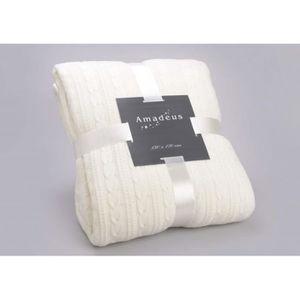 plaid tricot achat vente plaid tricot pas cher les. Black Bedroom Furniture Sets. Home Design Ideas