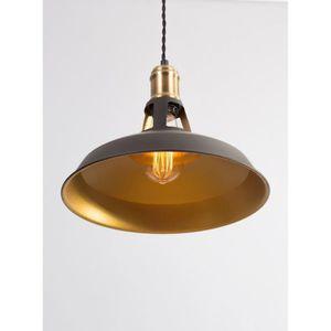 Lustre de cuisine noir achat vente lustre de cuisine for Lampes de cuisine suspension