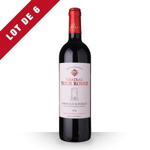 VIN ROUGE 6X Château Tour Rouge 2014 Rouge 75cl AOC Bordeaux