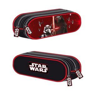 TROUSSE À STYLO Disney - Star Wars - Trousse 2 Compartiments  21 x