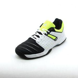 CHAUSSURES DE HANDBALL Chaussures Adidas Court Stabil 12 Noir/Blanc