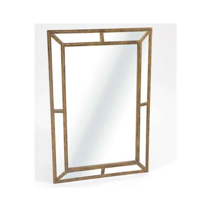 Miroir arte deco amadeus dimensions hauteur 93 cm for Miroir a l ancienne