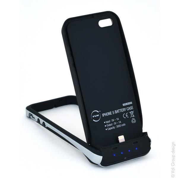 nx batterie t l phone portable pour iphone 5 achat. Black Bedroom Furniture Sets. Home Design Ideas