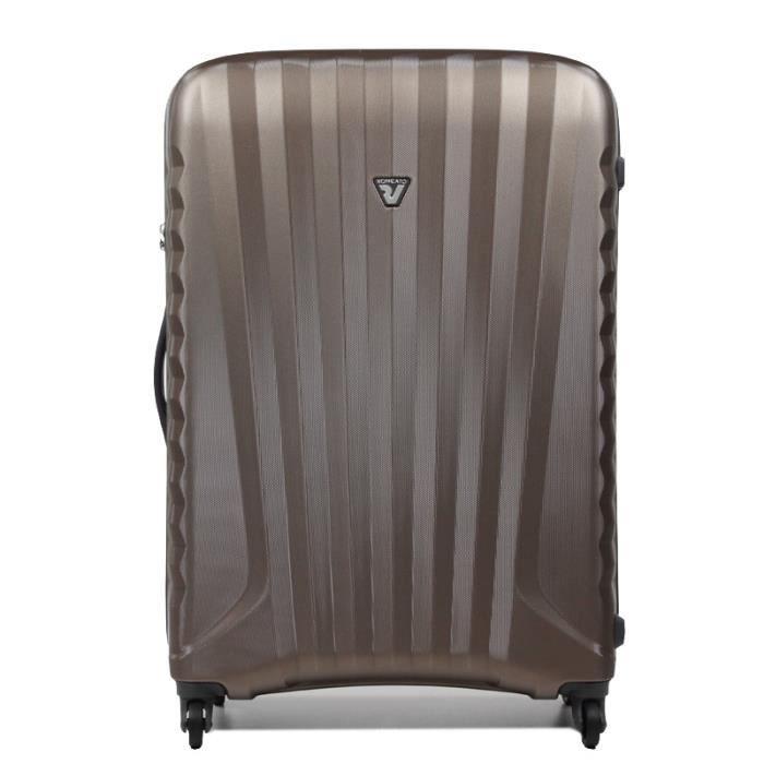 bagage roncato valise cabine uno sl zip ecru ecru achat vente valise bagage bagage roncato. Black Bedroom Furniture Sets. Home Design Ideas