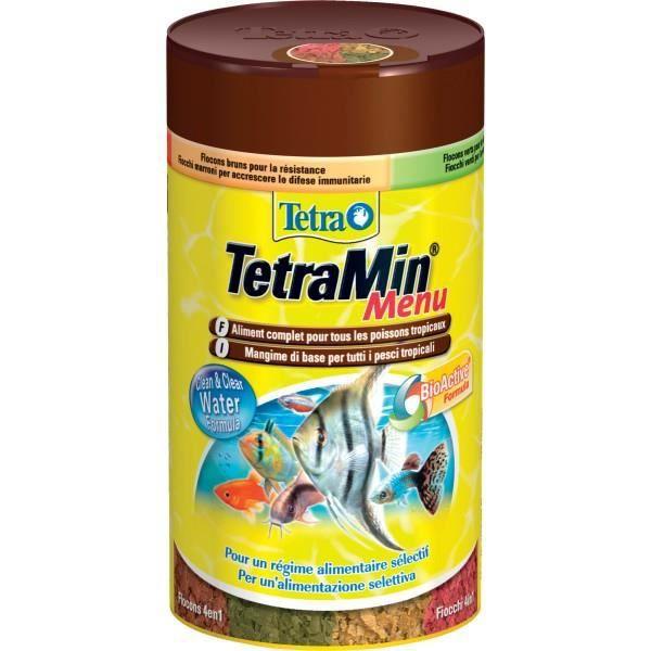 Nourriture pour poisson tetramenu achat vente for Flocon pour poisson