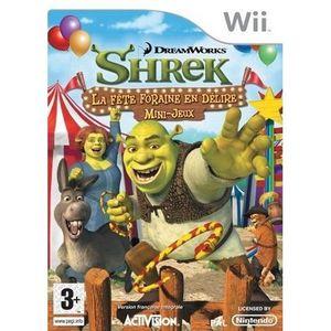 JEUX WII SHREK : La fête foraine en délire /JEU CONSOLE Wii