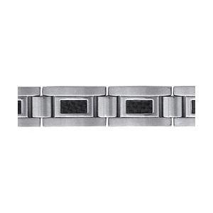 Bracelet Acier et carbone
