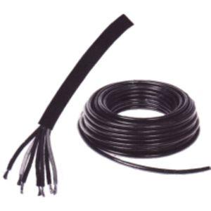 Rouleau de 50 m de câble auto noir 5 x 1,50 mm²