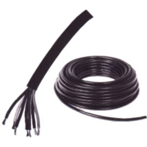 CÂBLE DE DÉMARRAGE Rouleau de 50 m de câble auto noir 5 x 1,50 mm²