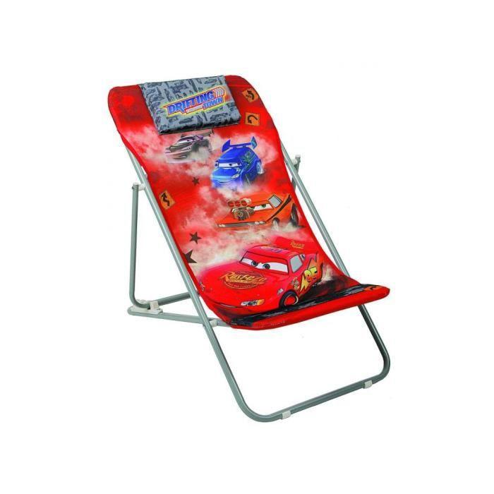 chaise pliante de plage chilienne cars achat vente chaise tabouret b b 2009927694857. Black Bedroom Furniture Sets. Home Design Ideas