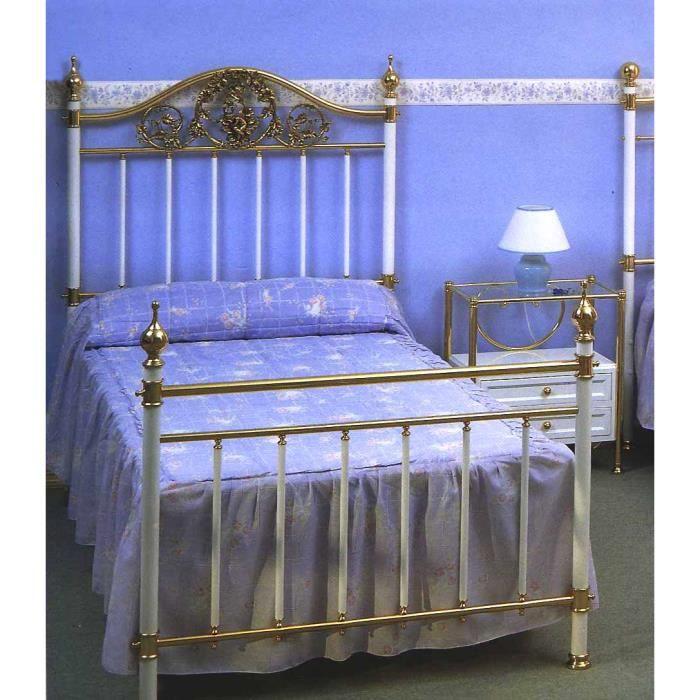 Lits et t tes de lit en laiton et fer forg mod le dijon - Tete de lit fer forge pas cher ...