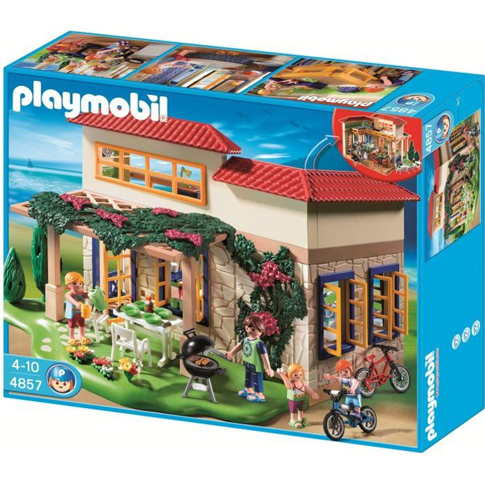 playmobil 4857 maison de campagne achat vente univers. Black Bedroom Furniture Sets. Home Design Ideas