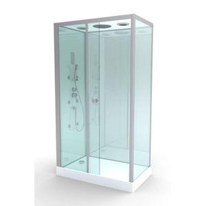 cabine de douche hydromassante achat vente cabine de douche hydromassante pas cher cdiscount. Black Bedroom Furniture Sets. Home Design Ideas