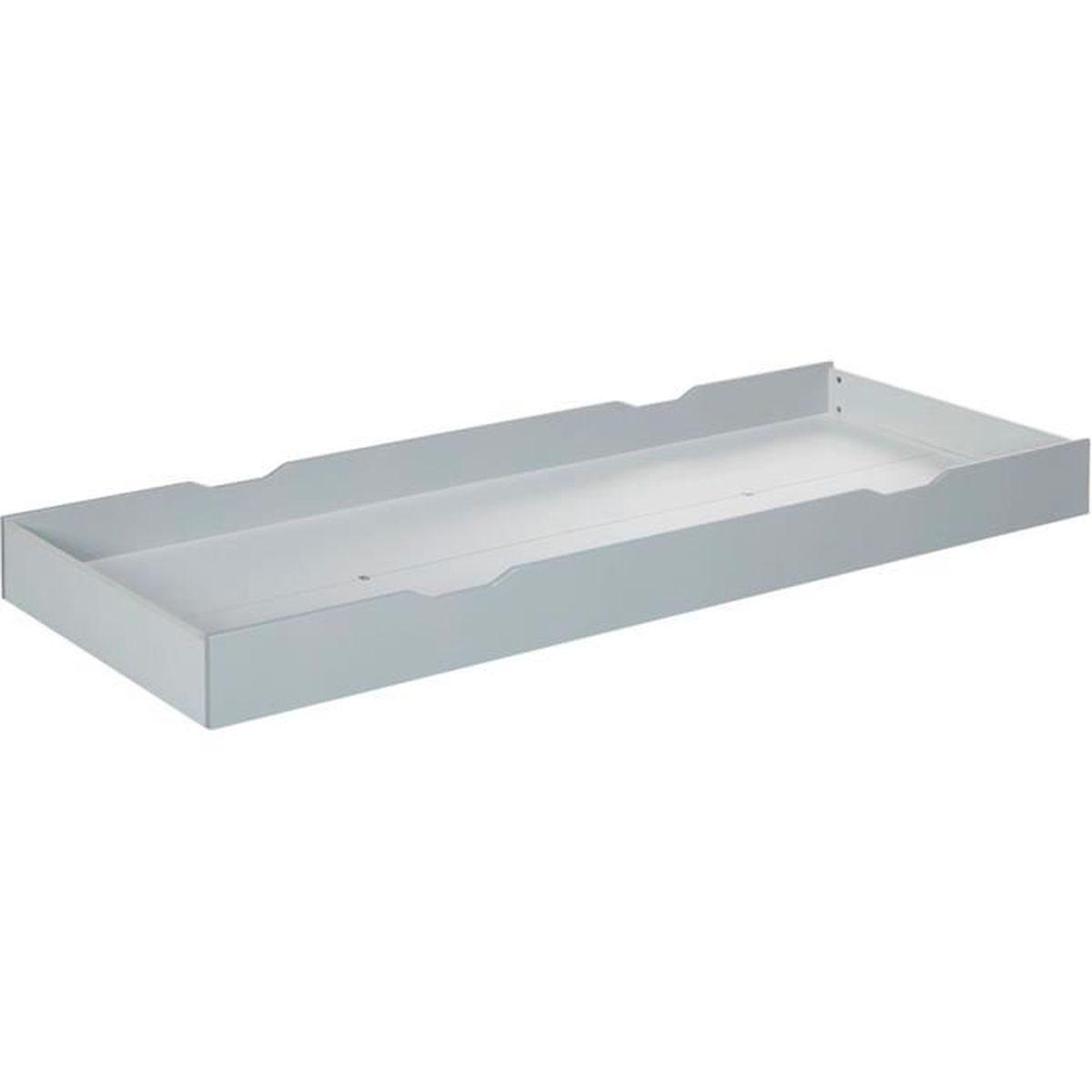 Combilit tiroir de rangement blanc pour lit combilit for Rangement tiroir blanc