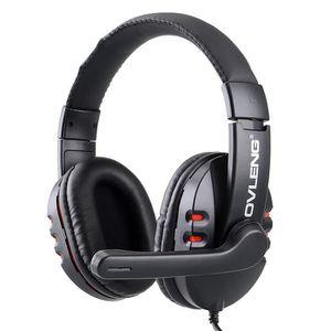 CASQUE - ÉCOUTEUR AUDIO ZH-X6 super bass sur l'oreille casque avec micro -
