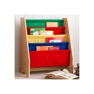 Biblioth que pour chambre d 39 enfant toile rouge achat for Etagere chambre d enfant
