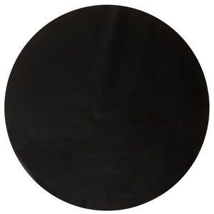 set de table rond noir achat vente set de table rond noir pas cher cdiscount. Black Bedroom Furniture Sets. Home Design Ideas